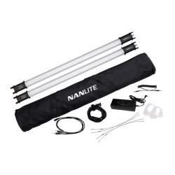 LED Gaismas nūjas - NANLITE PAVOTUBE 15C-2-KIT 15-2009-2KIT RGB bi-color - perc šodien veikalā un ar piegādi
