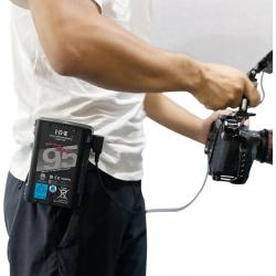 Accessories for rigs - SMALLRIG 2990 BATTERY PLATE V-MOUNT W BELT CLIP 2990 - buy today in store and with delivery