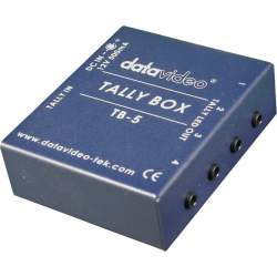 Converter Decoder Encoder - DATAVIDEO TB-5 TALLY CONTROLBOX TB-5 - quick order from manufacturer