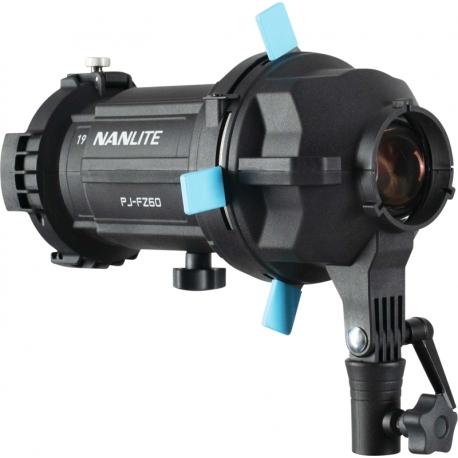 Studijas gaismu aksesuāri - NANLITE PJ-FZ60-19 PROJECTOR MOUNT PJ-FZ60-19 - ātri pasūtīt no ražotāja