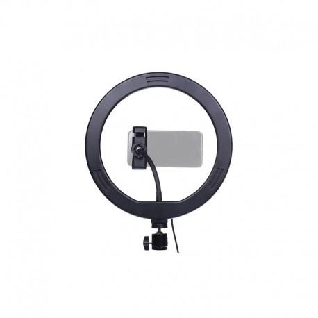 StudioKing LED Vlog Set SK-K190 with Ring Lamp and Microphone Holder