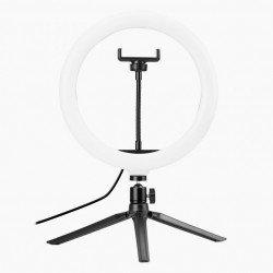 Newell RL10 RGB LED Vlogging Kit with tripod