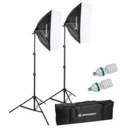 Fluorescējošās - Bresser BR-220-A 2x135W 50x70cm Daylight Set - perc šodien veikalā un ar piegādi
