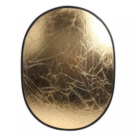 Saliekamie atstarotāji - Linkstar Reflector 2 in 1 R-6090SW Silver/White 60x90 cm - купить сегодня в магазине и с доставкой
