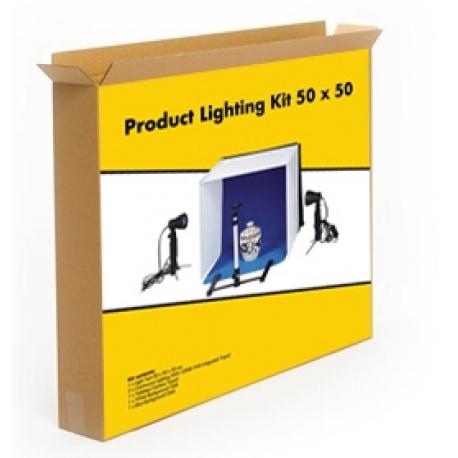 Light Cubes - Linkstar Photo Box Kit PBK-50 50x50 cm Foldable + 2x50W lamps - quick order from manufacturer