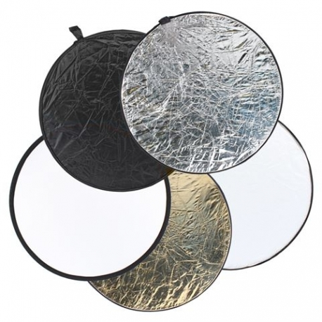 Foldable Reflectors - StudioKing Reflector 5 in 1 CRC5107 107 cm - buy today in store and with delivery