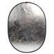 Saliekamie atstarotāji - Linkstar Reflector 2 in 1 R-90120SW Silver/White 90x120 cm - perc šodien veikalā un ar piegādi