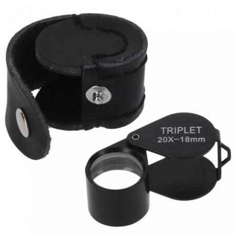 Palielināmie stikli - Byomic Jewelry Magnifier Triplet BYO-IT2018 20x18mm - купить сегодня в магазине и с доставкой