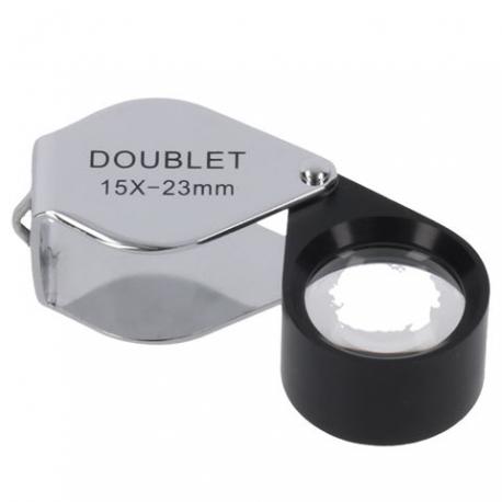 Увеличительные стекла/лупы - Byomic Jewelry Magnifier Doublet BYO-ID1523 15x23mm - купить сегодня в магазине и с доставкой