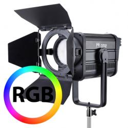 Fresnels Lights - Falcon Eyes RGB LED Fresnel Spot Dimmable DM2 200W - quick order from manufacturer