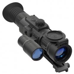 Nakts redzamība - Yukon Digital Nightvision Rifle Scope Sightline N470 with Weaver Rifle Mount - ātri pasūtīt no ražotāja