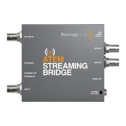 Straumēšanai - Blackmagic Design ATEM Streaming Bridge (BM-SWATEMMINISBPR) - ātri pasūtīt no ražotāja