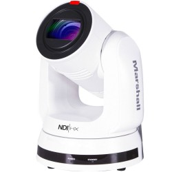 PTZ Video Cameras - Marshall Electronics CV730-NDIW PTZ Camera (White) - quick order from manufacturer