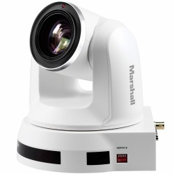 PTZ Video Cameras - Marshall CV612HT-4KW PTZ Camera (White) - quick order from manufacturer