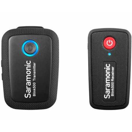 Mikrofoni - Saramonic BLINK 500 B1 (TX+RX) 2.4GHZ - perc šodien veikalā un ar piegādi