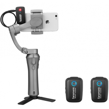 Mikrofoni - Saramonic BLINK 500 B2 (TX+TX+RX) 2.4GHZ - perc šodien veikalā un ar piegādi