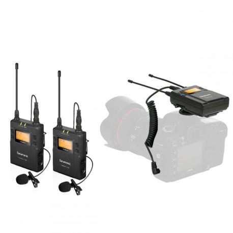 Mikrofoni - SARAMONIC UWMIC9 (TX9 +TX9 +RX9) - perc šodien veikalā un ar piegādi