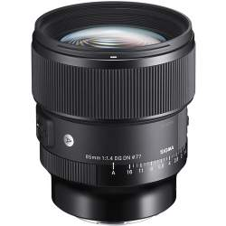 Objektīvi - Sigma 85mm F1.4 DG DN Sony E-mount [Art] 322965 - perc šodien veikalā un ar piegādi