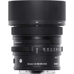 Объективы - Sigma 35mm F2.0 DG DN lens (Contemporary) Sony E 347965 - купить сегодня в магазине и с доставкой