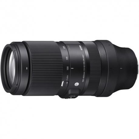 Objektīvi - Sigma AF 100-400MM F/5-6.3 DG DN OS (C) L-Mount (Contemporary) Black 750969 - ātri pasūtīt no ražotāja