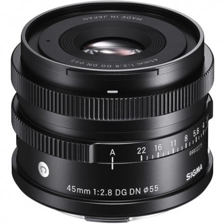 Objektīvi - Sigma 45mm F2.8 DG DN Leica L [CONTEMPORARY] 360969 - ātri pasūtīt no ražotāja