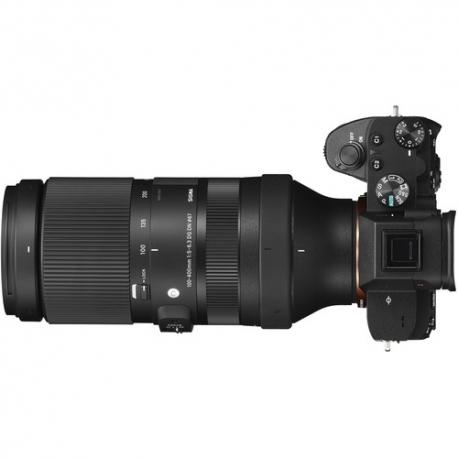 Objektīvi - Sigma 100-400MM F/5-6.3 DG DN OS C Sony E-mount 750965 - ātri pasūtīt no ražotāja