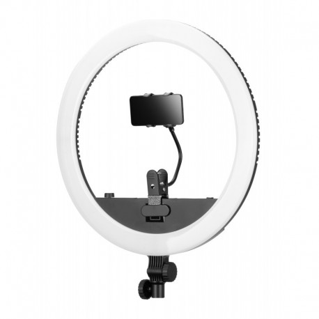 Gredzenveida LED lampas - LED Yongnuo YN708 riņķa veida lampa WB (3200 K - 5600 K) ar barošanas bloku - perc šodien veikalā un ar piegādi