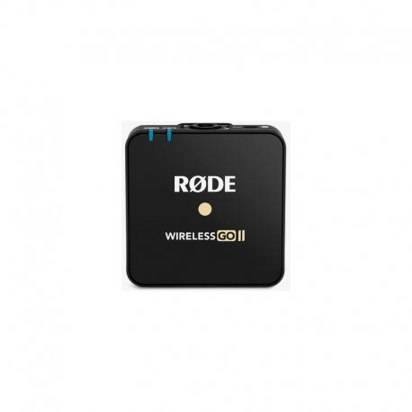 Mikrofoni - Rode microphone Wireless Go II black komplekts Go 2 - perc šodien veikalā un ar piegādi