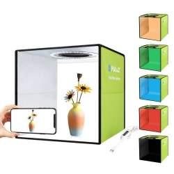 Gaismas kastes - Photo studio LED Puluz 30cm PU5032G - perc šodien veikalā un ar piegādi