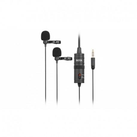 Boya mikrofons BY-M1DM Dual Lavalier