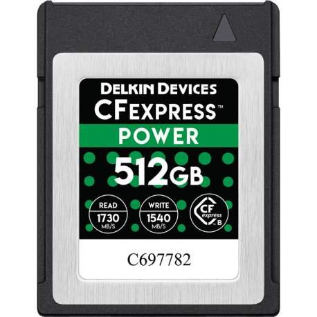Atmiņas kartes - DELKIN CFEXPRESS 1,0 512GB DCFX0-512 - быстрый заказ от производителя