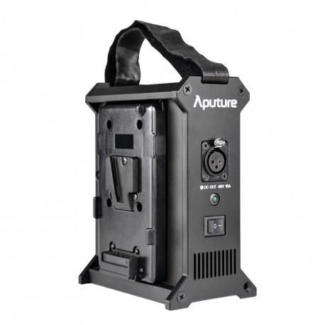 Kameras bateriju lādētāji - Aputure 2-Bay V-Mount 12-16.8v Battery Power Station 10A 48V Nova P300C - ātri pasūtīt no ražotāja