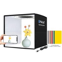 Gaismas kastes - Puluz 25cm light tent led ring PU5025B - perc šodien veikalā un ar piegādi