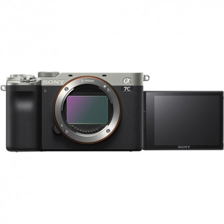 Bezspoguļa kameras - Sony A7C Body Silver ILCE-7C/S α7C Alpha 7C - ātri pasūtīt no ražotāja