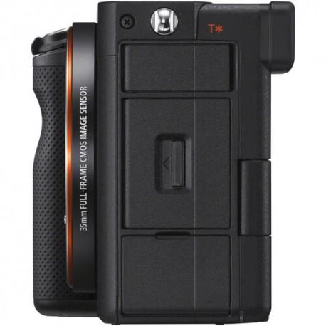 Bezspoguļa kameras - Sony A7C Body Black ILCE-7C/B α7C Alpha 7C - ātri pasūtīt no ražotāja
