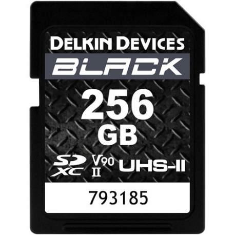 Atmiņas kartes - DELKIN SD BLACK RUGGED UHS-II (V90) R300/W250 256G DSDBV90256 - ātri pasūtīt no ražotāja