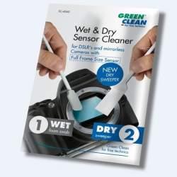 Foto kameras tīrīšana - Green Clean SC-6060 full frame mitrā/sausā tīrīšanas otiņa SC-4060 - perc šodien veikalā un ar piegādi