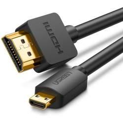 UGREEN HD127 Micro HDMI to HDMI Cable 3m (Black)