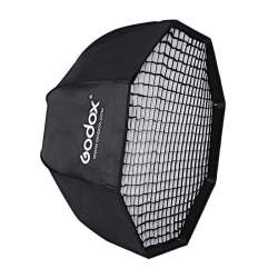 Softboxes - Godox SB-GUE120 Umbrella style with grid softbox with bowens mount Octa 120cm - buy today in store and with delivery
