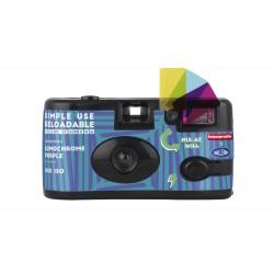 Плёночные фотоаппараты - Lomography Camera Lomochrome Purple (Challenger Edition) + Lomochrome Purple film 400/135/27 - купить сегодня в магазине и с доставкой