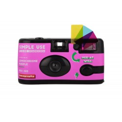 Filmu kameras - Lomography Camera Lomochrome Purple + Lomochrome Purple film 400/135/27 - perc šodien veikalā un ar piegādi