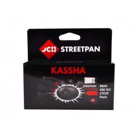 JCH StreetPan 400 KASSHA Black & White Disposable Camera 27 Exp