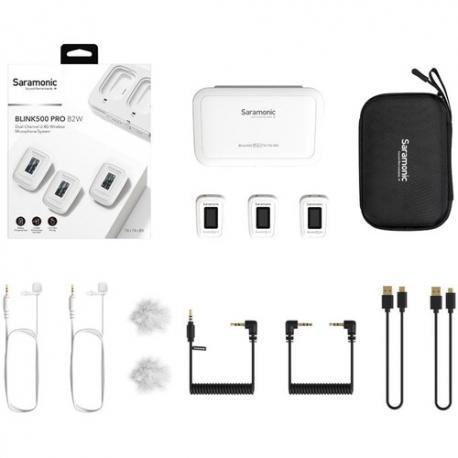 Mikrofoni - Blink 500 Pro B2 White 2,4GHz wireless w - perc šodien veikalā un ar piegādi