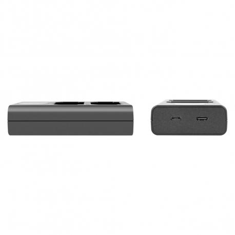 Зарядные устройства - Newell DL-USB-C dual channel charger for NP-FW50 - купить сегодня в магазине и с доставкой