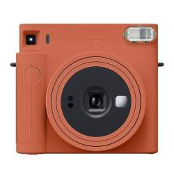 FUJIFILM instax SQUARE SQ1 Terracotta Orange instant camera
