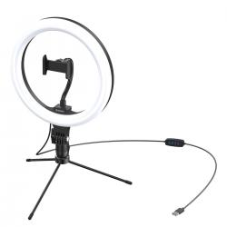 Baseus 10-inch bi-color Light Ring Table Stand Livestream phone Holder