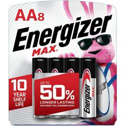 Energizer Max AA 8 pack