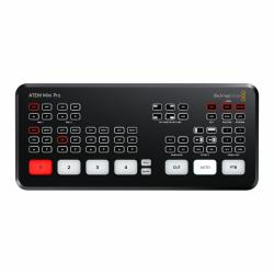 Video Cameras Accessories - Blackmagic ATEM Mini Pro Switcher 4xHDMI streaming mixer rental