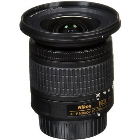 Objektīvi un aksesuāri - Nikon AF-P DX 10-20mm f/4.5-5.6G VR platleņķa objektīvs noma