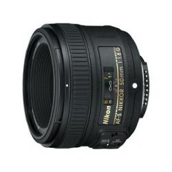 Объективы и аксессуары - Nikon 50 mm 1.8G AF-S Nikkor AF 50mm F1.8G объектив на Никон аренда